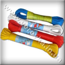 Бельевая веревка в пластиковой оболочке