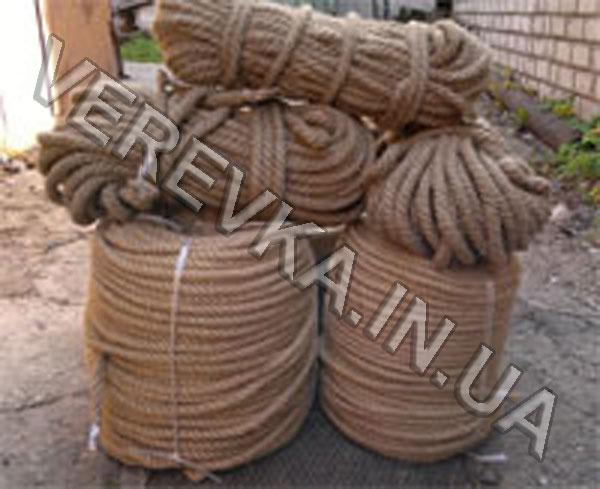 Декоративные джутовые канаты и веревки
